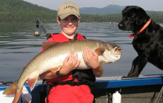 Catch of the Day on Priest Lake near Elkins Resort