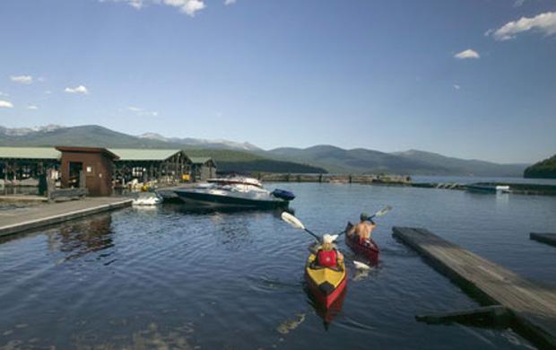 Kayaking At Priest Lake Elkins Resort On Priest Lake