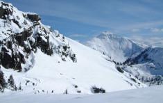 Ridged Mountain near Elkins Resort