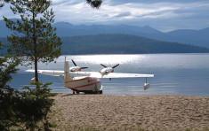 Seaplane near Elkins Resort