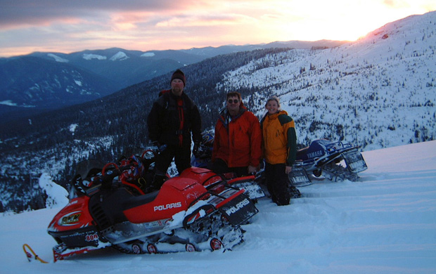 snowmobiling on priest mountain essay