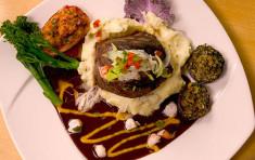 Steak at Elkins Resort