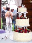 Wedding Cake at Elkins Resort
