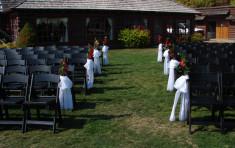 Isle for Wedding at Elkins Resort