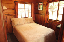 Cabin Bedroom at Elkins