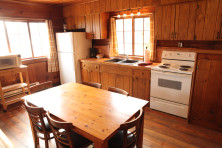 Kitchen in Cabin at Elkins