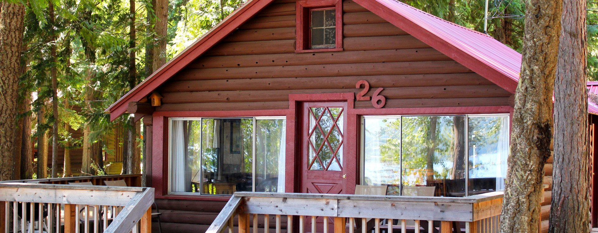 We have a variety of cabins at Elkins Resort to fit your needs