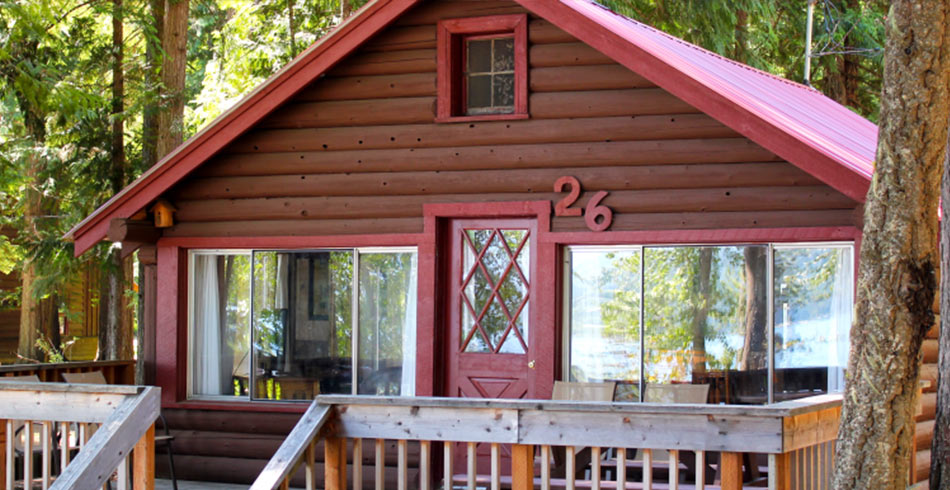 close up of Cabin 26
