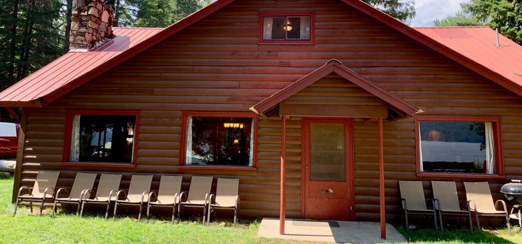 Exterior of cabin 18