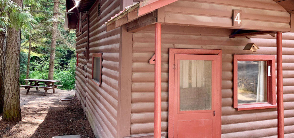 Exterior of Cabin 4