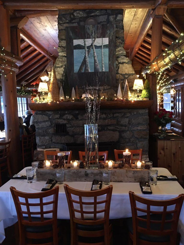 image of dinner at Elkins Resort