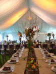 Amazing wedding tent