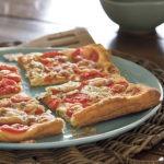 Tomato rosemary tart