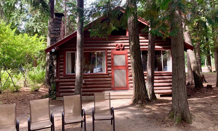 image of cabin at Elkins Resort